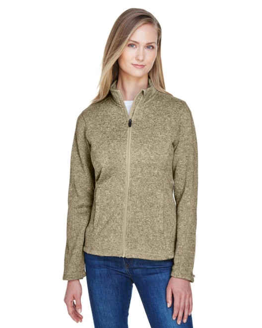 Picture of Devon & Jones DG793W Womens Bristol Full-Zip Sweater Fleece Jacket