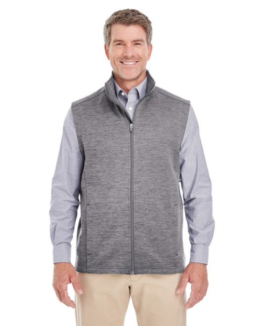 Picture of Devon & Jones DG797 Men's Newbury Melange Fleece Vest