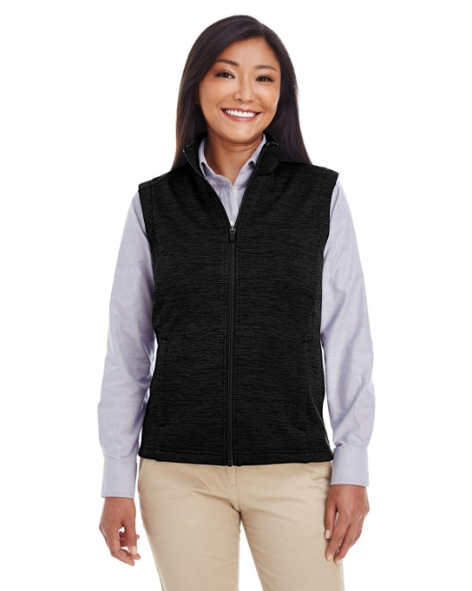 Picture of Devon & Jones DG797W Womens Newbury Melange Fleece Vest