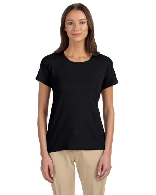 Picture of Devon & Jones DP182W Womens Perfect Fit Shell T-Shirt