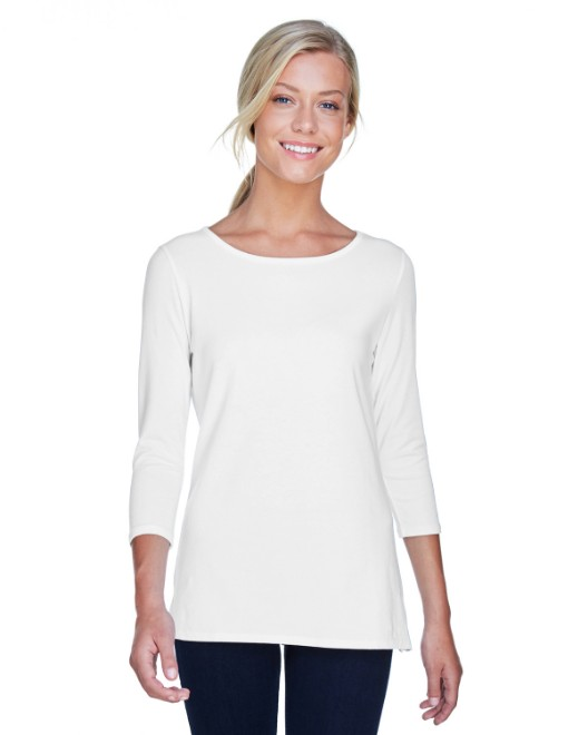Picture of Devon & Jones DP192W Womens Perfect Fit Ballet Bracelet-Length Knit Top