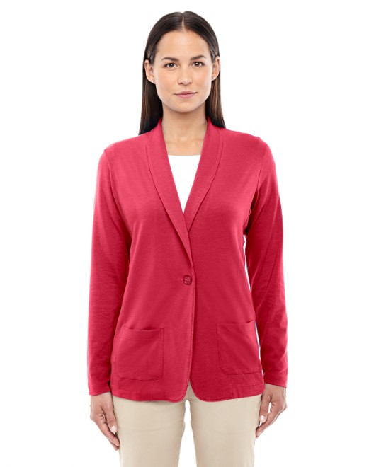 Picture of Devon & Jones DP462W Ladies' Perfect Fit Shawl Collar Cardigan