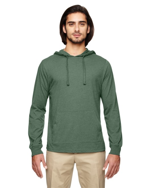 Picture of econscious EC1085 Unisex 4.25 oz. Blended Eco Jersey Pullover Hoodie