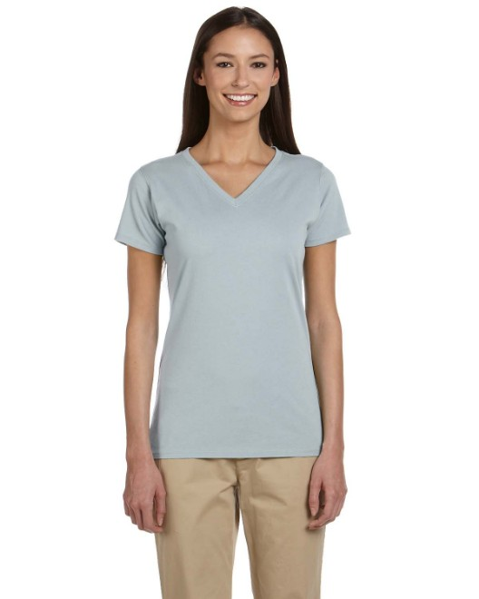 Picture of econscious EC3052 Womens 4.4 oz., 100% Organic Cotton Short-Sleeve V-Neck T-Shirt