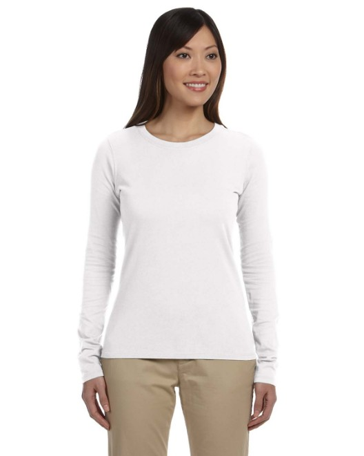 Picture of econscious EC3500 Womens 4.4 oz., 100% Organic Cotton Classic Long-Sleeve T-Shirt