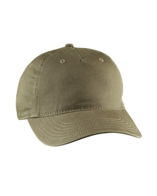 Picture of econscious EC7087 Twill 5-Panel Unstructured Hat