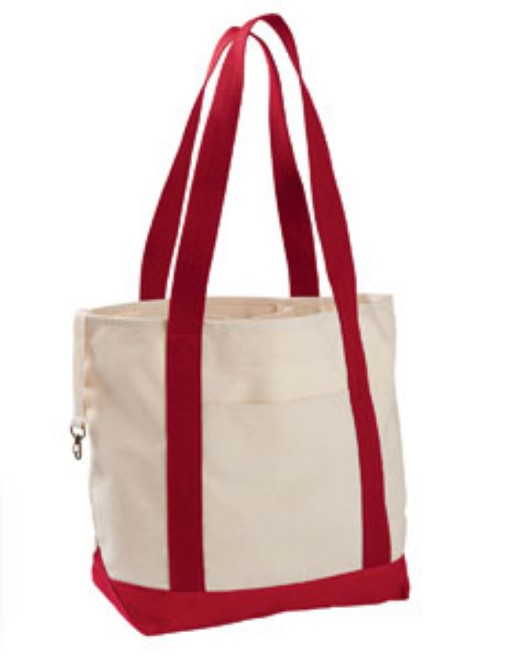 Picture of econscious EC8035 12 oz. Organic Cotton Canvas Boat Tote Bag