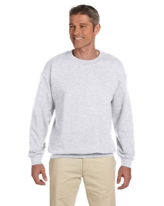 Picture of Hanes F260 Adult 9.7 oz. Ultimate Cotton 90/10 Fleece Crew