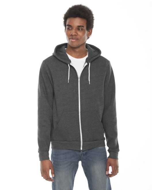 Picture of American Apparel F497W Unisex Flex Fleece Zip Hoodie