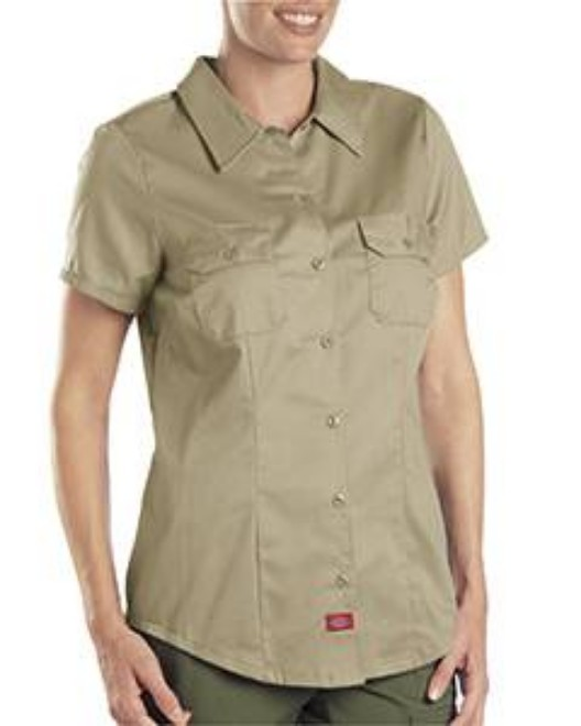 Picture of Dickies FS574 Womens 5.25 oz. Twill Shirt