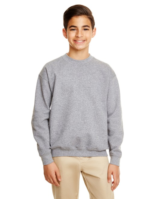 Picture of Gildan G180B Youth Heavy Blend 8 oz., 50/50 Fleece Crew