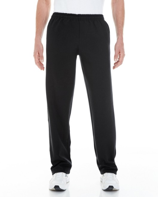 Picture of Gildan G183 Adult Heavy Blend Adult 8 oz. Open-Bottom Sweatpants with Pockets