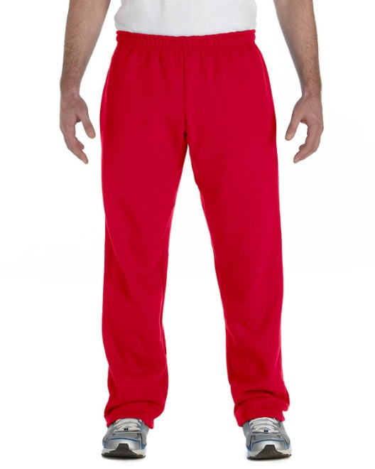 Picture of Gildan G184 Adult Heavy Blend Adult 8 oz., 50/50 Open-Bottom Sweatpants