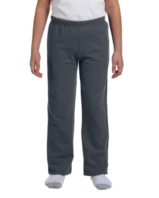 Picture of Gildan G184B Youth Heavy Blend 8 oz., 50/50 Open-Bottom Sweatpants