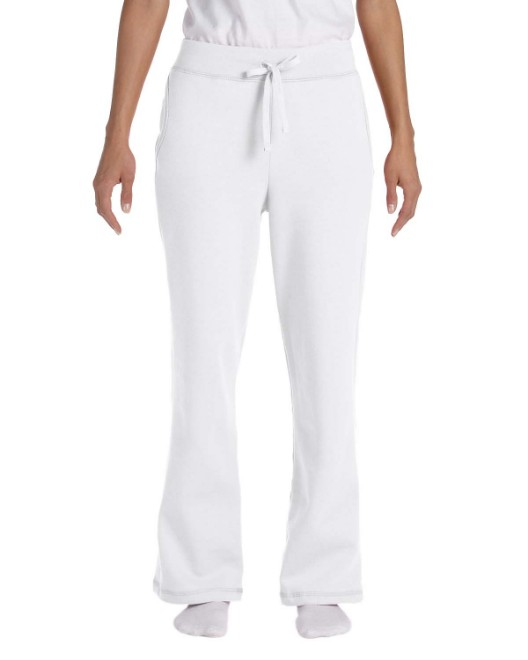 Picture of Gildan G184FL Womens Heavy Blend Ladies' 8 oz., 50/50 Open-Bottom Sweatpants