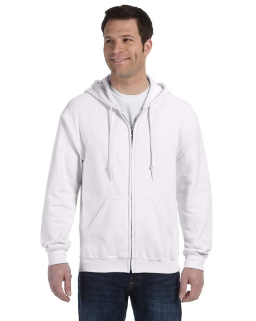 Picture of Gildan G186 Adult Heavy Blend Adult 8 oz., 50/50 Full-Zip Hood