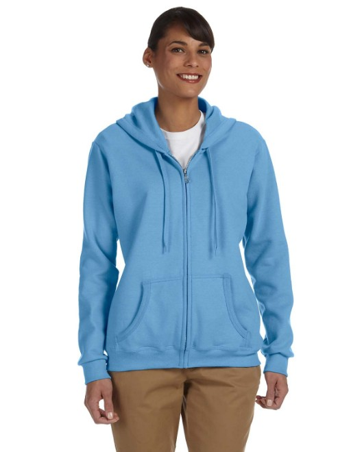 Picture of Gildan G186FL Ladies' Heavy Blend Ladies' 8 oz., 50/50 Full-Zip Hood