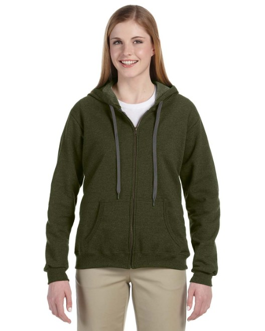 Picture of Gildan G187FL Heavy Blend Womens 8 oz. Vintage Classic Full-Zip Hood