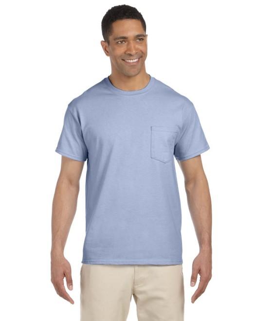 Picture of Gildan G230 Adult Ultra Cotton 6 oz. Pocket T-Shirt