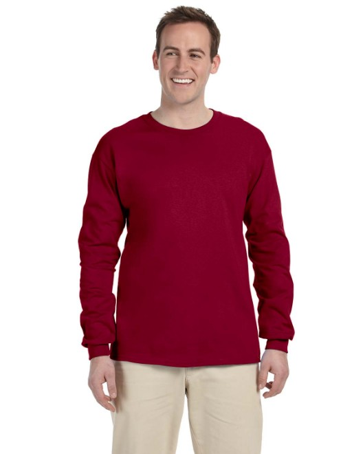 Picture of Gildan G240 Adult Ultra Cotton 6 oz. Long-Sleeve T-Shirt