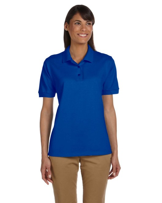 Picture of Gildan G380L Womens  Ultra Cotton Womens 6.3 oz. Pique Polo