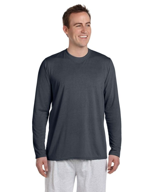 Picture of Gildan G424 Adult Performance Adult 5 oz. Long-Sleeve T-Shirt