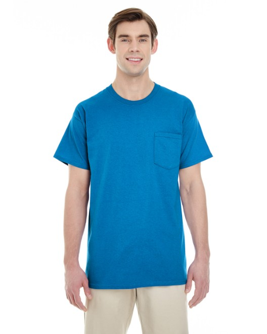 Picture of Gildan G530 Adult 5.3 oz. Pocket T-Shirt