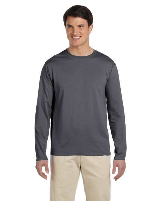 Picture of Gildan G644 Adult Softstyle  4.5 oz. Long-Sleeve T-Shirt
