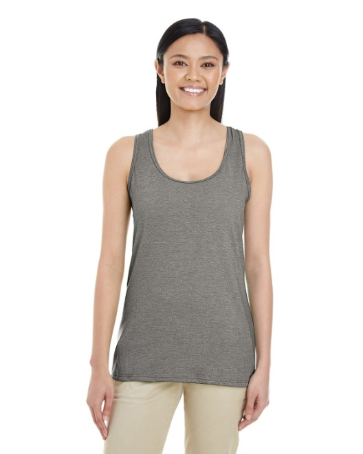 Picture of Gildan G645RL Womens Softstyle  4.5 oz. Racerback Tank