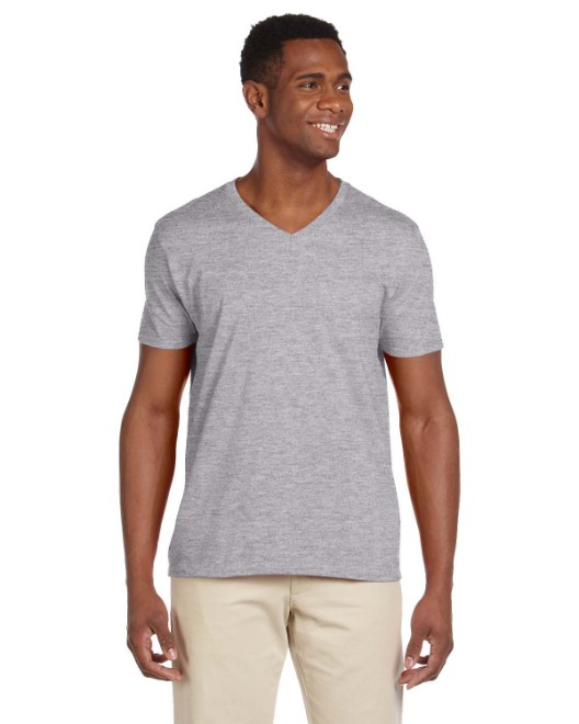 Picture of Gildan G64V Adult Softstyle 4.5 oz. V-Neck T-Shirt