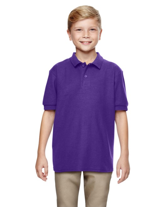 Picture of Gildan G728B Youth 6 oz. Double Pique Polo