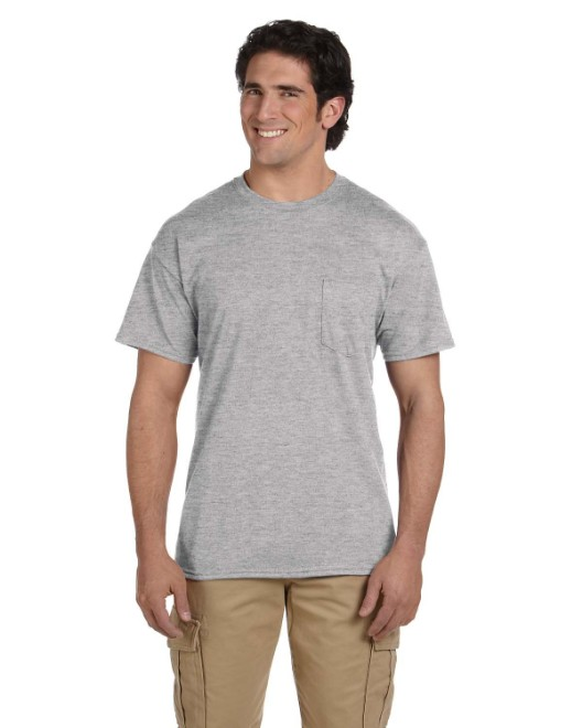 Picture of Gildan G830 Adult 5.5 oz., 50/50 Pocket T-Shirt
