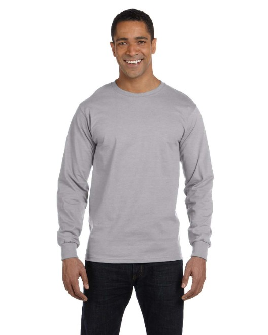 Picture of Gildan G840 Adult 5.5 oz., 50/50 Long-Sleeve T-Shirt