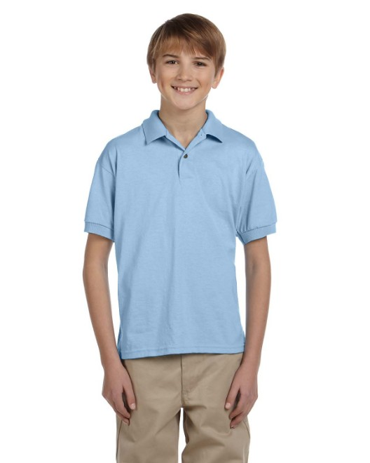 Picture of Gildan G880B Youth 6 oz., 50/50 Jersey Polo