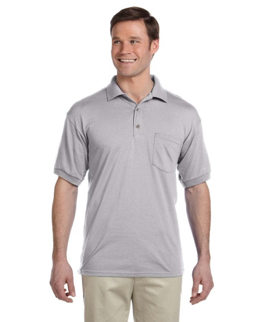 b7584311 Picture of Gildan G890 Adult 6 oz., 50/50 Jersey Polo with Pocket