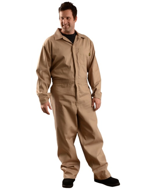 Picture of OccuNomix G906 Men's Value Cotton Flame Resistant HCR 1 Coverall