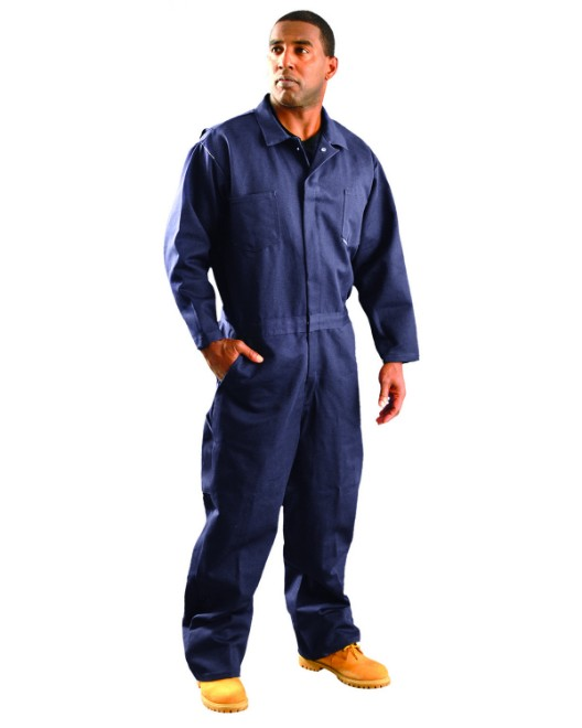 Picture of OccuNomix G909I Men's Classic Indura Flame Resistant HRC 2 Coverall