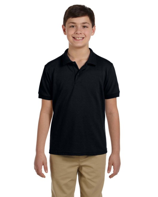 Picture of Gildan G948B Youth 6.8 oz. Pique Polo