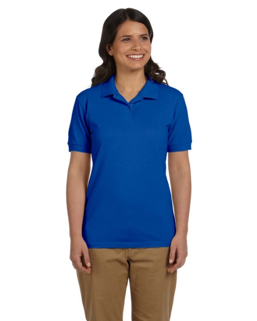 Picture of Gildan G948L Womens 6.8 oz. Pique Polo