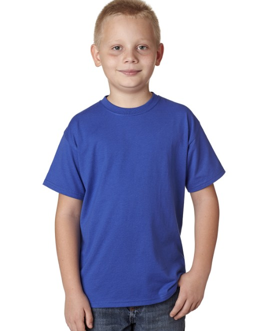 Picture of Hanes H420Y Youth 4.5 oz. X-Temp Performance T-Shirt