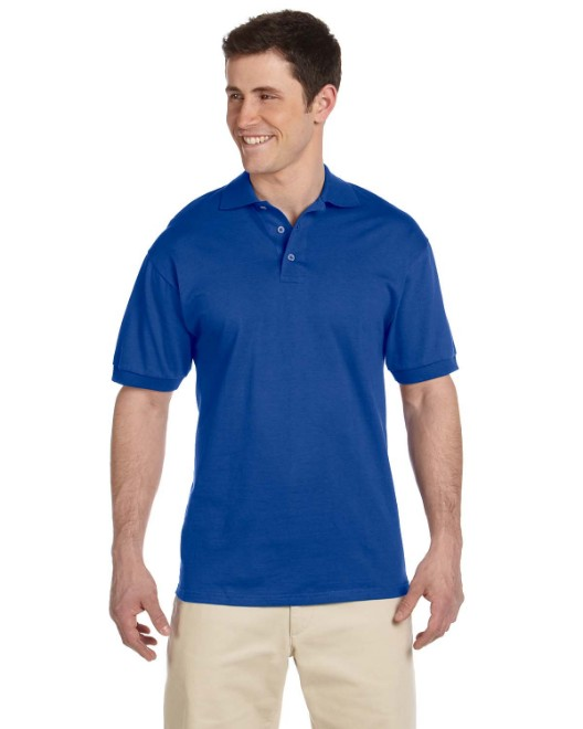 Picture of Jerzees J100 Adult 6.1 oz. Heavyweight Cotton Jersey Polo