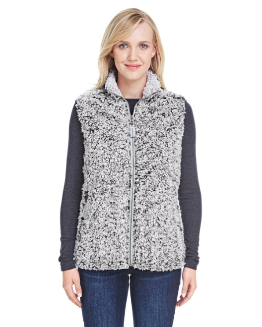 Picture of J America JA8456 Womens Epic Sherpa Vest