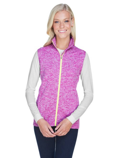 Picture of J America JA8625 Womens Lasic Cosmic Fleece Vest