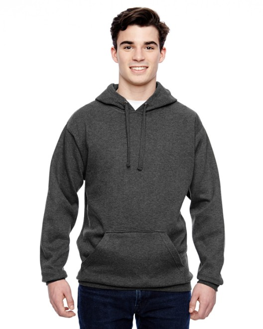 Picture of J America JA8815 Adult Tailgate Fleece Pullover Hood