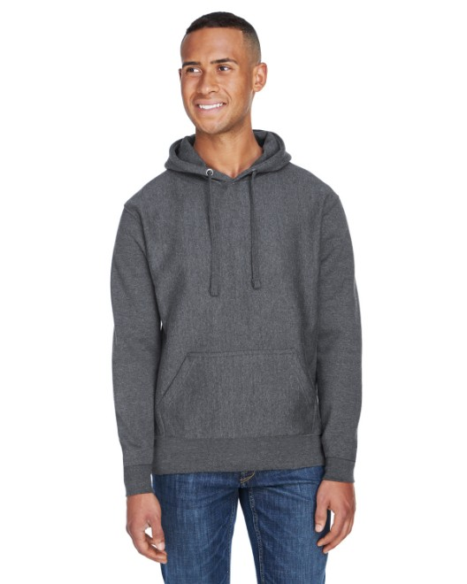 Picture of J America JA8846 Adult Sport Weave Fleece Hooded Sweatshirt