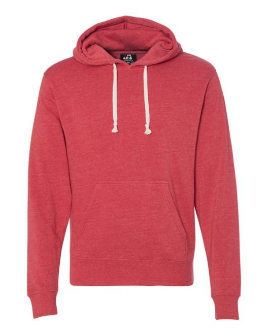 Picture of J America JA8871 Adult Triblend Pullover Fleece Hood