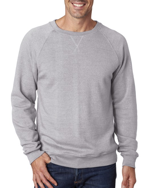 Picture of J America JA8875 Men's Triblend Fleece Crew