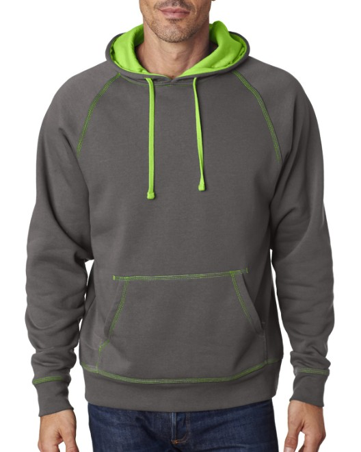 Picture of J America JA8883 Adult Shadow Fleece Pullover Hood