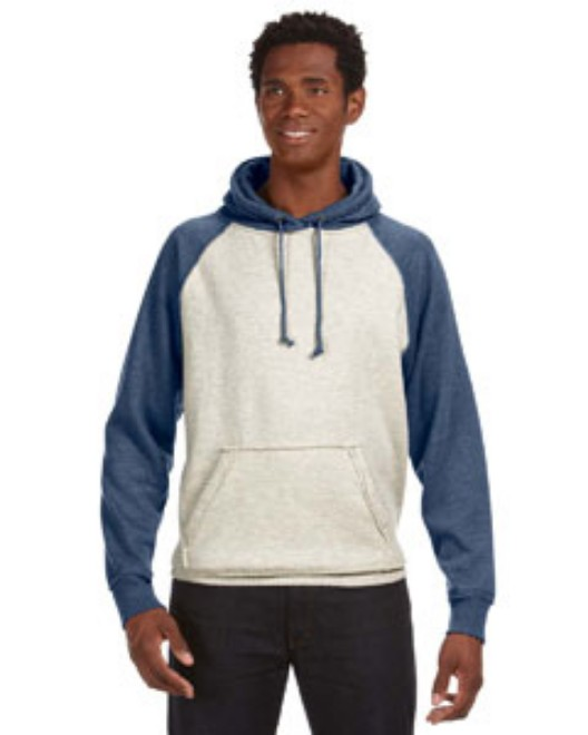 Picture of J America JA8885 Adult Vintage Heather Pullover Hood