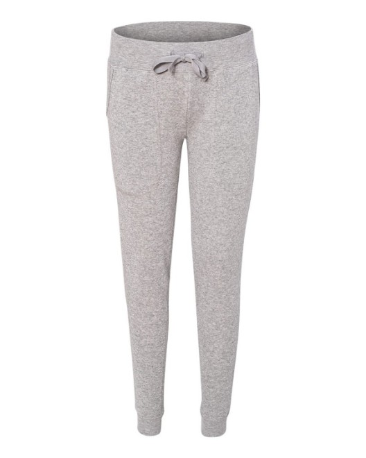 Picture of J America JA8943 Ladies Glitter Jogger Pant